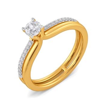 Rock Duo Diamond Rings