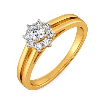 Friendly Floret Diamond Rings