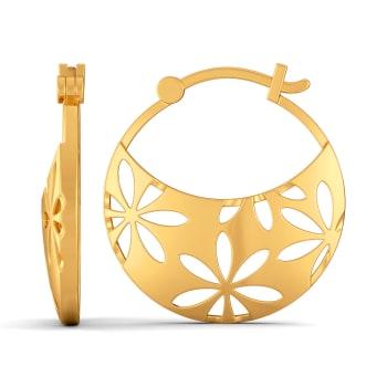 My Kinda Scarf Gold Earrings