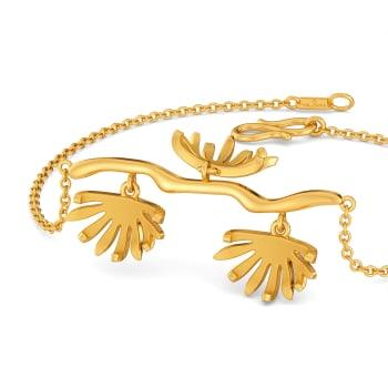 The Glow Show Gold Bracelets