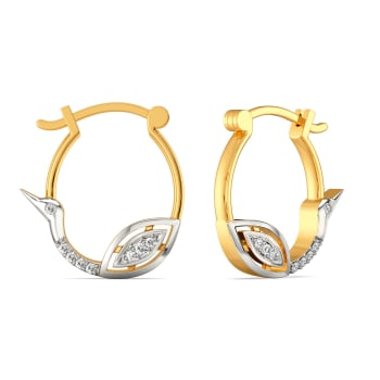 White Soiree Diamond Earrings