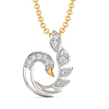 White Soiree Diamond Pendants
