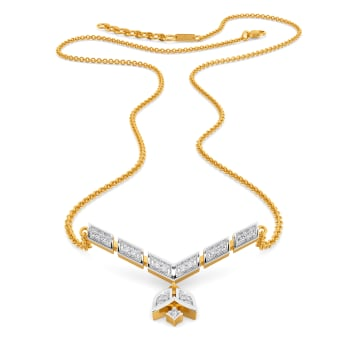 Art Poise Diamond Necklaces
