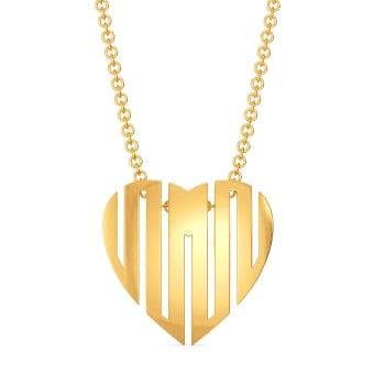 Posh Passion Gold Pendants