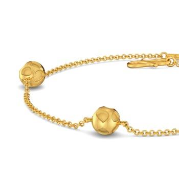 Panthera Pardus  Gold Bracelets