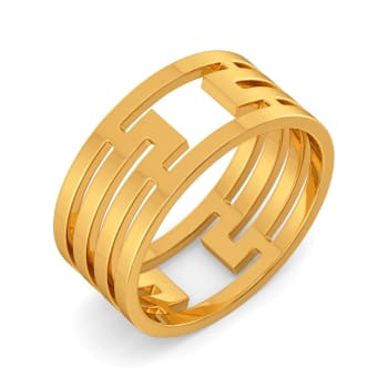 Volume Vision Gold Rings