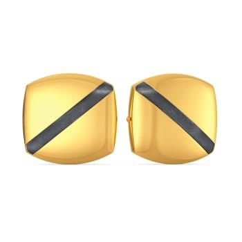 Timeless Black Gold Earrings