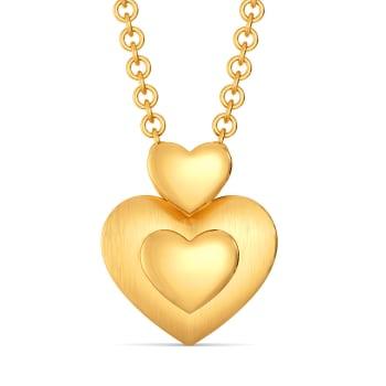 Mon Amour Gold Pendants