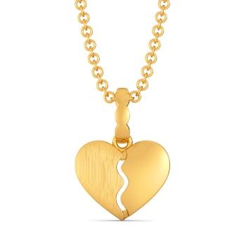 Carre Ardor Gold Pendants