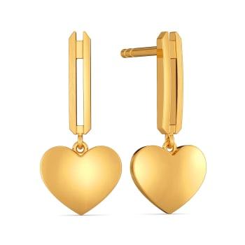 Pont des Arts Gold Earrings