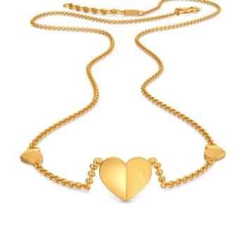 Pont des Arts Gold Necklaces
