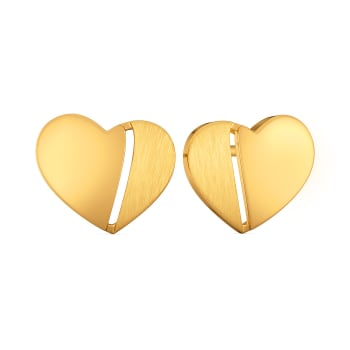 Bonjour Chérie Gold Earrings