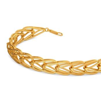 Debonair Dash Gold Bracelets