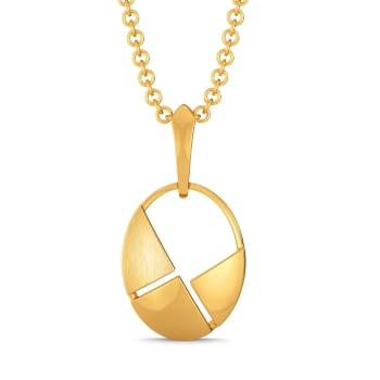Bonjour Style Gold Pendants