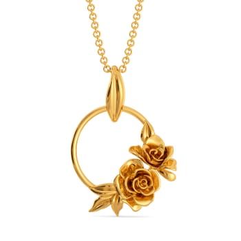 Rose Retreat Gold Pendants