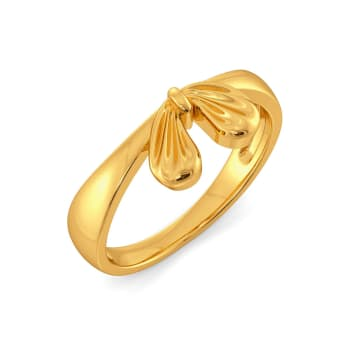 Saint Bows Gold Rings