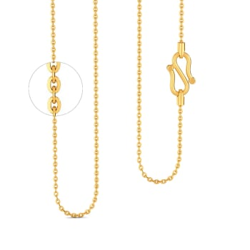22k Flat Anchor Chain Gold Chains