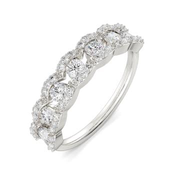 Gleam N Groove Diamond Rings