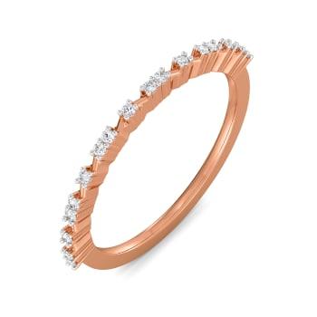 Rose Resist Diamond Rings
