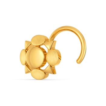 Elegance Refreshed Gold Nose Pins