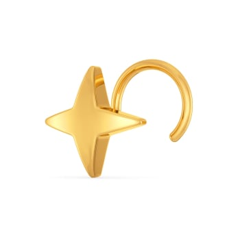 Story of the Star Gold Nose Pins