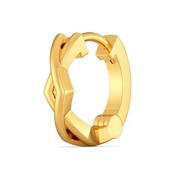 Criss Over Cross Gold Nose Pins