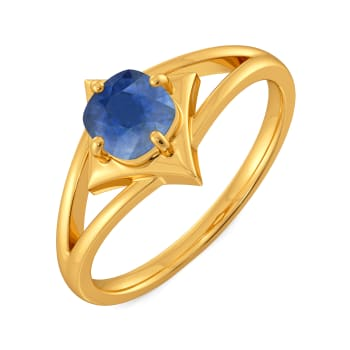 Spruced Up Blue Gemstone Rings