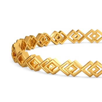 Feisty Tacts Gold Bangles