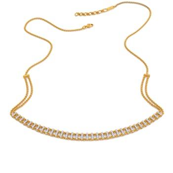Disco Themed Diamond Necklaces