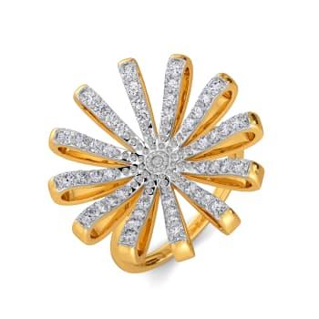 Vogue O Clock Diamond Rings