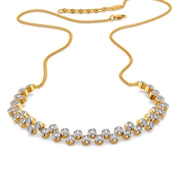 Sequin Sparkle Diamond Necklaces