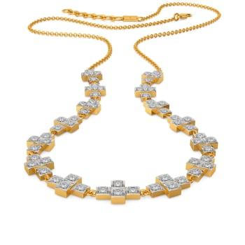 Geo Jaunts Diamond Necklaces