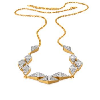 Geom Genres Diamond Necklaces