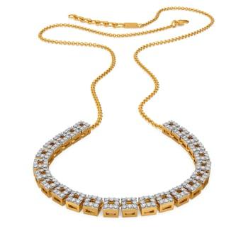 Bourgeois Vibes Diamond Necklaces