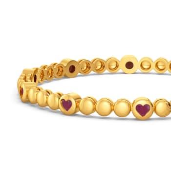 Hearts O Passion Gemstone Bangles