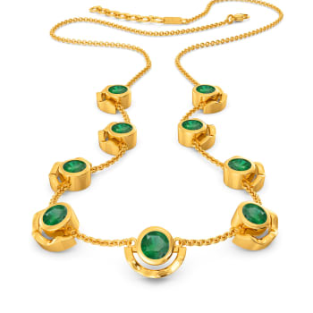 Giddy in Green Gemstone Necklaces
