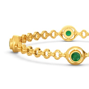 Touch of Glory Gemstone Bangles
