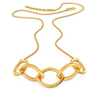 Link O Mark Gold Necklaces