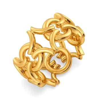 Twist N Lock Gold Rings