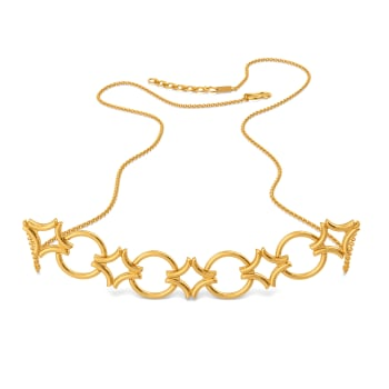 Twist N Lock Gold Necklaces