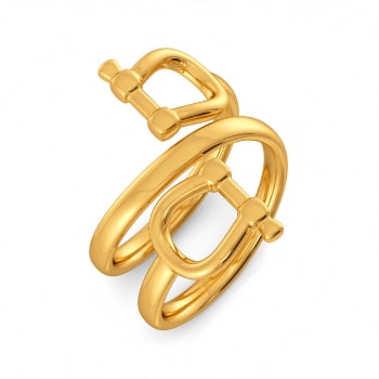 Chains N Props Gold Rings