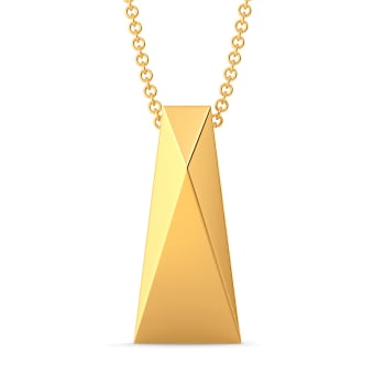 Fitted Finesse Gold Pendants