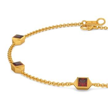 Red Said Gemstone Bracelets