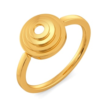Suit Suave Gold Rings