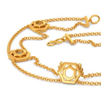 Glam Suits Gold Bracelets