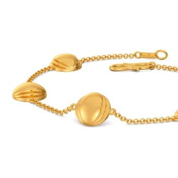 Statement Suit Gold Bracelets