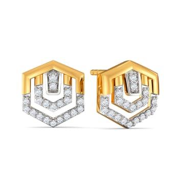 Suit N Bling Diamond Earrings