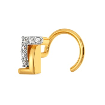 Elegant Drama Diamond Nose Pins