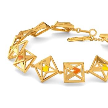Vibrant Mods Gold Bracelets