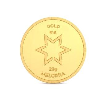 20 g 22 kt Gold Coin Gold Coins
